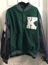 Letterman Letter Jacket 2 Letter Staggered Chenille Varsity