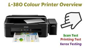 Epson Color Printer L380 L L L L Duilawyerlosangeles