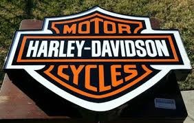 Harley Davidson Signs Decor Amazon HarleyDavidson Sign 100100 H X 100100W Lighted BAR 79