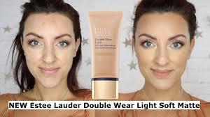 New Estee Lauder Double Wear Light Soft Matte