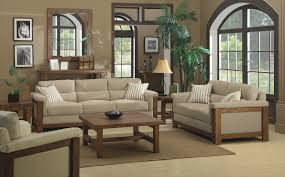 Wood Furniture For Living Room Living Room Rustic Living Room For Cosy Night Cushion Armchair