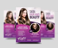 Makeup And Beauty Flyer
