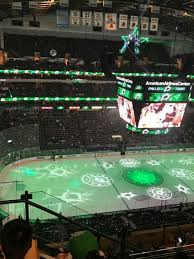 American Airlines Center Section 312 Home Of Dallas Stars