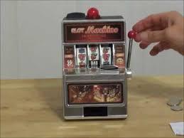 Vending Machine Piggy Bank Enchanting Casino Slot Machine Coin Piggy Bank YouTube