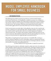 handbook template employee handbook template prboaqod elegant photo studiootb