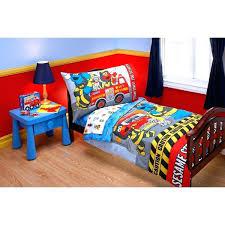 curious george bedding curious comforter set the official kids sesame street fire department 4 piece