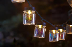 beautiful erfly jar outdoor string lights and outdoor light strings for contemporary backyard wedding decor