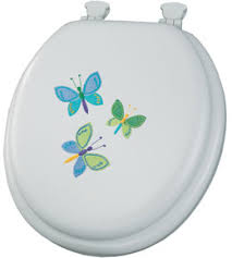 cushioned toilet seat covers. butterfly trio padded toilet seat cushioned covers a