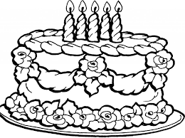 Coloring Page Coloring Page Birthday Cake Shopkins Free Pages