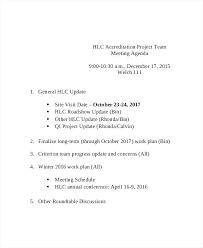 Team Meeting Agenda Template Free Word Documents Download Weekly For