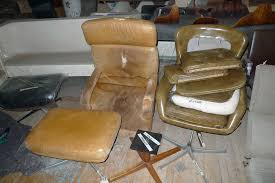 office chair reupholstery before office chair reupholstery before