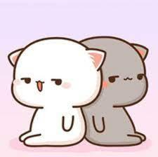 vẽ hai con mèo cute đi các bn ,đây là câu hỏi đặt ra cho zui và tặng điểm  nhớ kí tên để chứng minh đó là tranh của mih k tui