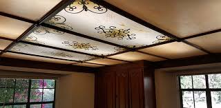 benefits of acrylic stained glass light covers over real glass