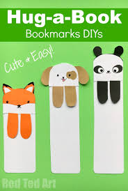 red ted art book cute bookmark diys red ted art s of red ted art
