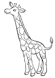 Giraffe Printable Template Free Giraffe Template Baby Shower Large Ustam Co