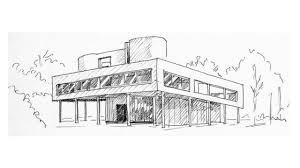 modern architecture sketch. Perfect Sketch 5 POINTS OF MODERN ARCHITECTURE LE CORBUSIER In Modern Architecture Sketch