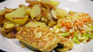 Fried Battered Salmon | Recipe