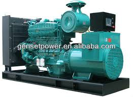 Electric Korea Power Diesel Generator kva With Cummins Engine