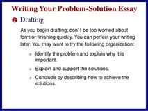 problem solutions essay topics personal statement templates problem solutions essay topics
