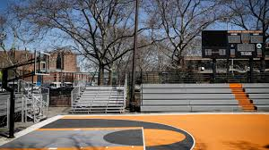 Get a bounce and cushion similar to hardwood in the comfort of your own backyard! Famed New York City Basketball Courts Are Strangely Silent Amid Coronavirus Pandemic Newsday