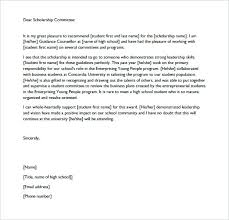 Recommendation Letter For Scholarship From Teacher Details File ...