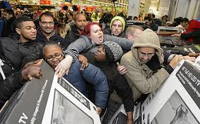 Image result for black friday chaos gif