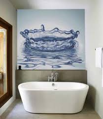 collect this idea glass mosaic tiles with cool images for bathroom