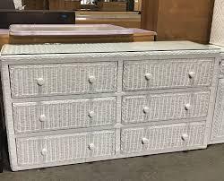white wicker dresser. Simple White White Wicker Dresser On C