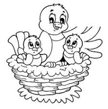 23 Best Coloring Pages Bird Nest Images In 2019