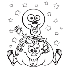 Small Picture Halloween Coloring Pages Skeleton Skeleton Coloring Pages To Print