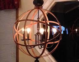 unique rustic lighting. orb chandelier light 23 unique rustic lighting l