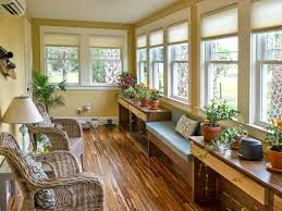 comfy brown wooden sunroom furniture paired. Beautiful Paired Sunroom Pictures From Blog Cabin 2014  DIY Network For Comfy Brown Wooden Furniture Paired S