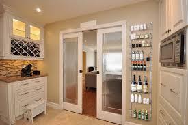 kitchen ideas rustic sliding door doors units with
