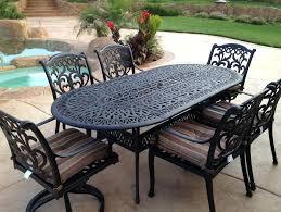 vintage iron patio furniture. Cast Iron Bistro Table Enchanting Patio Vintage Metal Outdoor . Italian Marble Top. Furniture O