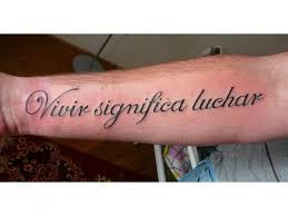 Tetování Nápisy