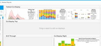 How To Put Side By Side Charts In Single Report With Co