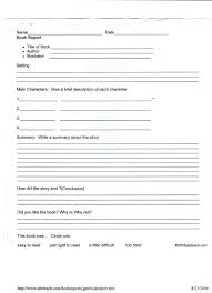Easy Book Report Template Filename – Infoe Link