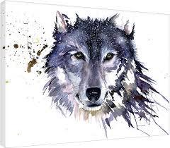 Obraz Na Plátně Sarah Stokes Snow Wolf Na Posterscz