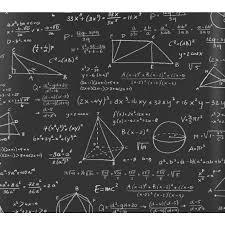Wiskunde Behang