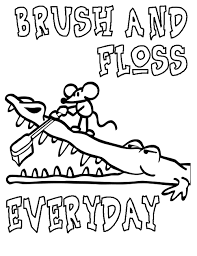 Small Picture Dental Health Coloring Pages Creative Coloring Page Ideas TV Land