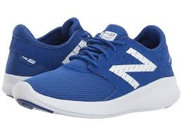 new balance shoes blue. new balance kids fuelcore coast v3 (little kid/big kid) (blue/ shoes blue