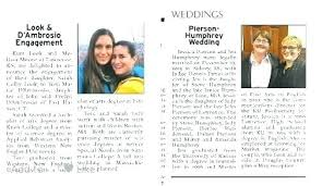 Wedding Invitation Newspaper Template Invite And Design Engagement Announcement Template Invites