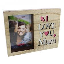 i love you mum light up photo frame