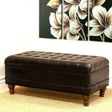 faux leather storage bench brown leather storage bench storage bench ottoman excellent large faux leather tufted faux leather storage bench