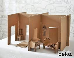 doll furniture recycled materials. DIY Modern Cardboard Dollhouse Doll Furniture Recycled Materials