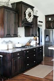 dark stain kitchen cabinets staining kitchen cabinets darker gorgeous best dark stained cabinets ideas on dark