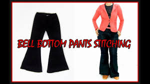 bell bottom pant stitching full bell bottoms sewing bell bottom pants for girls diy