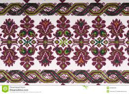 Embroidery Fabric Design Vintage Embroidery Textile Design Stock Image Image Of