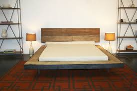 Bedroom:Rustic Bed Frame Diy With Floating Bed Frame Idea And Unique  Hardwood Flooring Idea