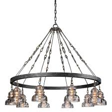 troy lighting menlo park 10 light old silver pendant